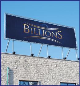 Striscione Billions